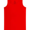 Rood hemd zonder zijnaden en labels