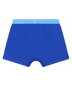 Boxershort jongens blauw zonder zijnaden en labels