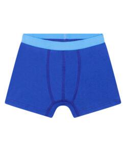 Boxershort blauw zonder zijnaden en labels