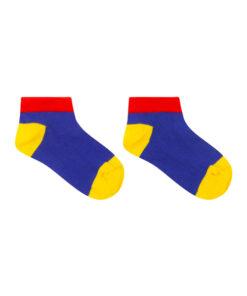 gekleurde sneaker sokken zonder naad